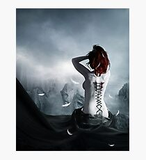 the corset of a angel Photographic Print