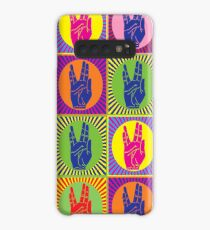 Funda/vinilo para Samsung Galaxy Star Trek Spock Hand Pop Art 1