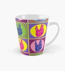 Star Trek Spock Hand Pop Art 1 Tall Mug