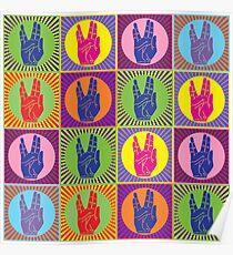 Star Trek Spock Hand Pop Art 1 Poster