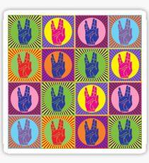 Star Trek Spock Hand Pop Art 1 Sticker
