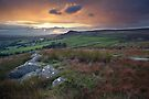 An Embsay Crag Sunset by SteveMG