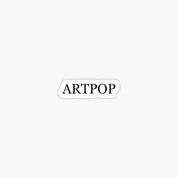 lady gaga ARTPOP tattoo design Sticker