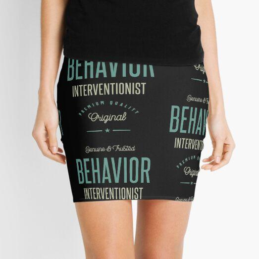 Behavior Interventionist Mini Skirt