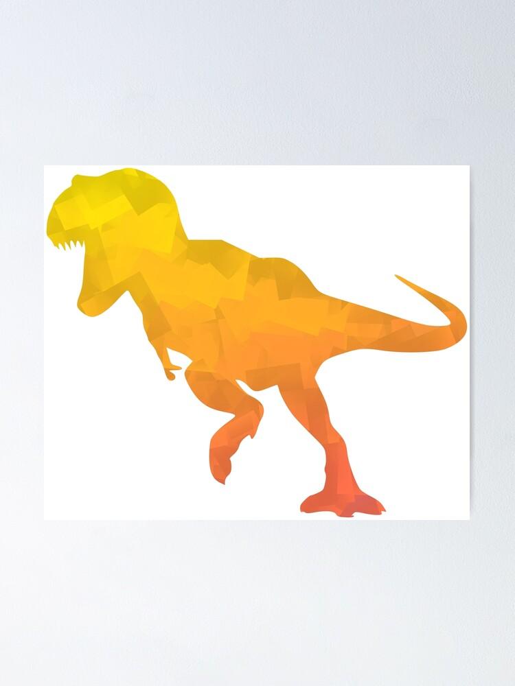 Poster T-Rex Express Tyrannosaurus Rex Babies Dinosaurs
