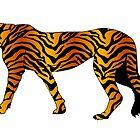 Tiger stripe print by rlnielsen4