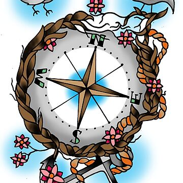 Nature's compass  by everchangingINK