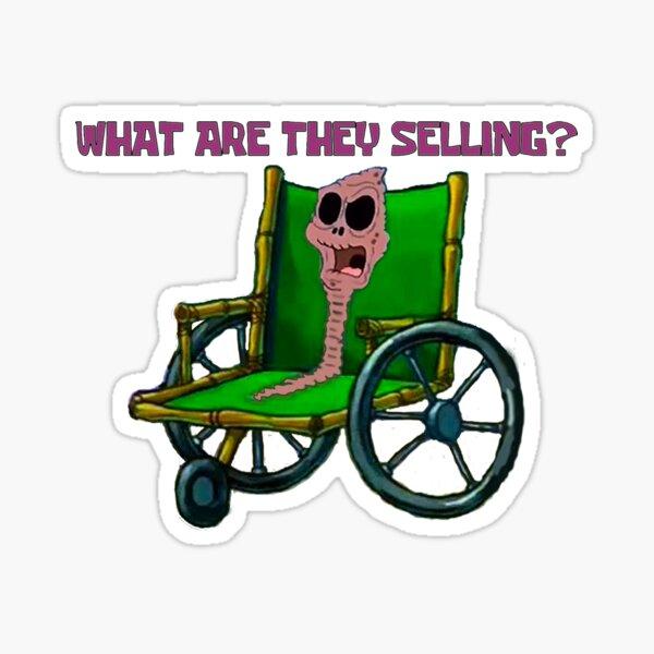 Was verkaufen sie? Sticker
