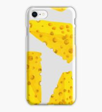 watercolor cheese  iPhone Case/Skin