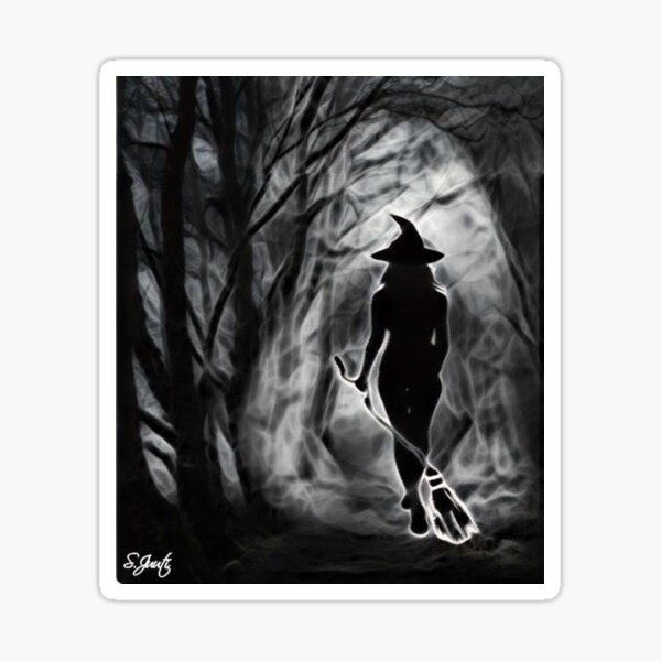 Witches Pathway Sticker