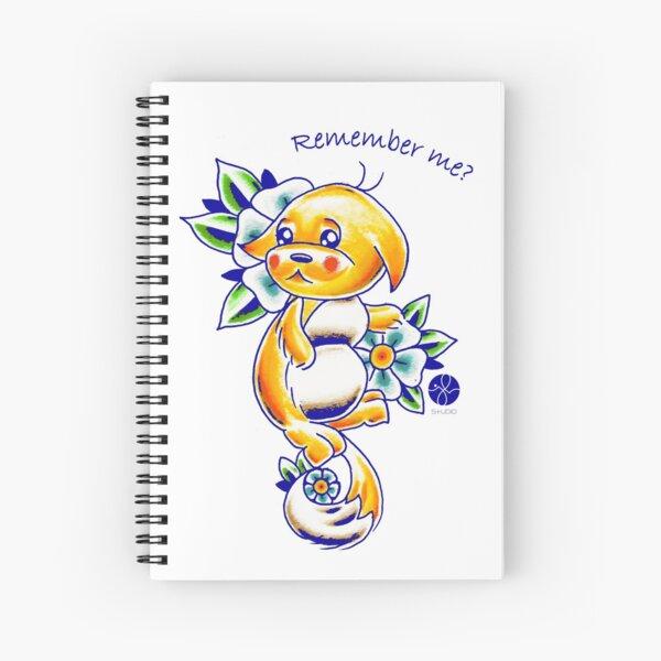Remember your Kacheek? Spiral Notebook