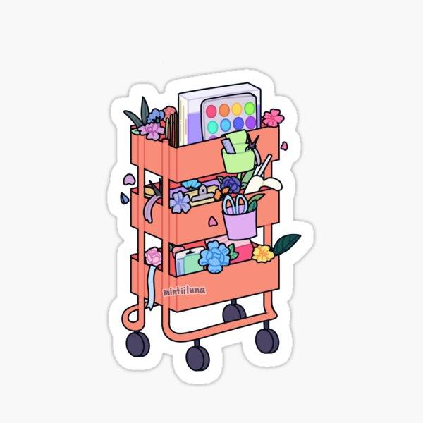 Craft Cart Sticker