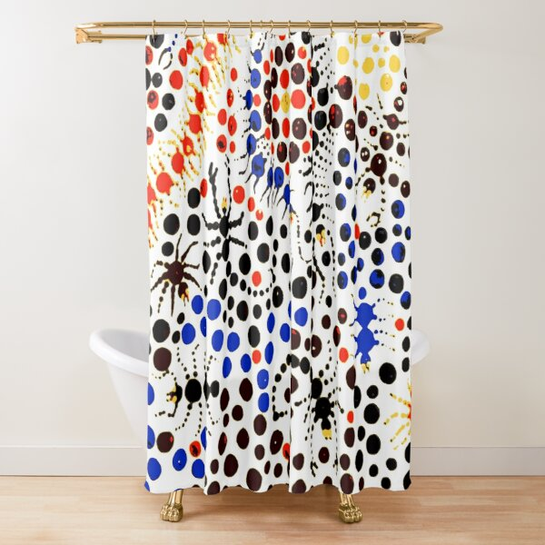 Creeping Candy  Shower Curtain