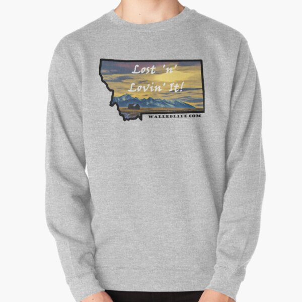 Montana Mission Mountains Shed Pullover Sweatshirt