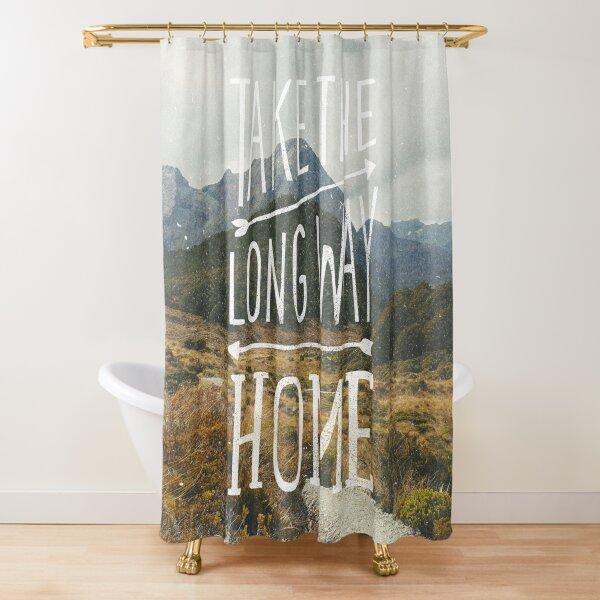 Lake Tekapo South Island New Zealand Scenic Shower Curtain Set Bathroom Bath Mat