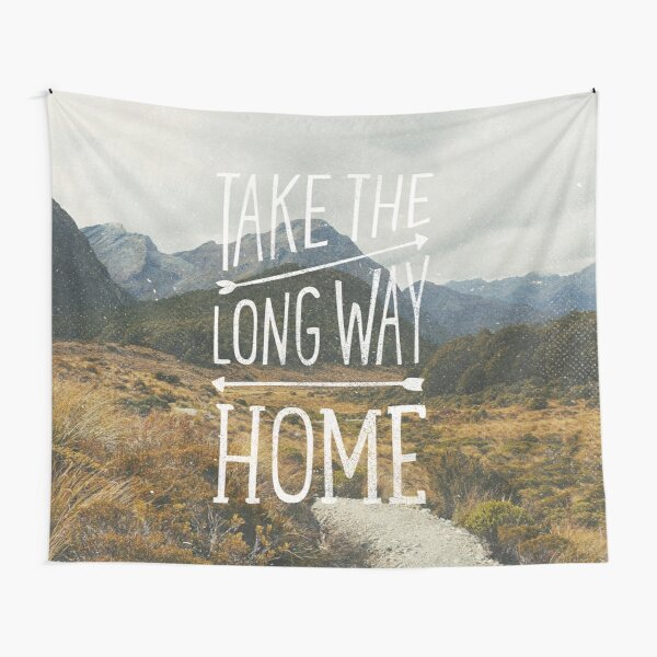 TAKE THE LONG WAY Tapestry