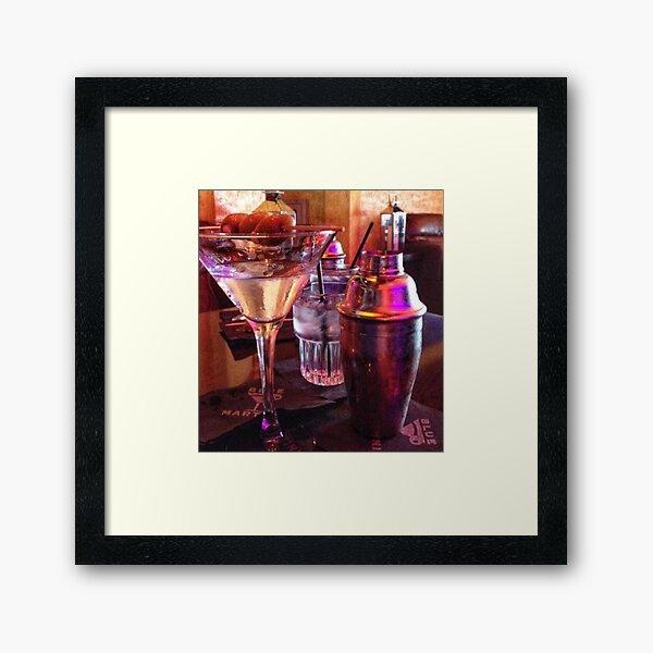 Martini Superstar Masterpiece Framed Art Print