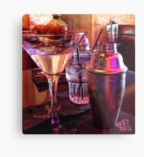 Martini Superstar Masterpiece Metal Print