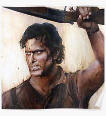 Bruce Campbell V.S Army of Darkness Poster