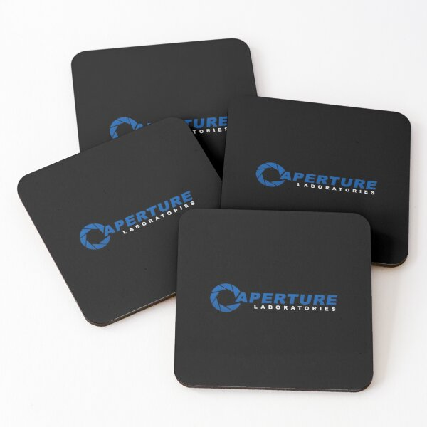 Aperture Science Laboratories  Coasters (Set of 4)