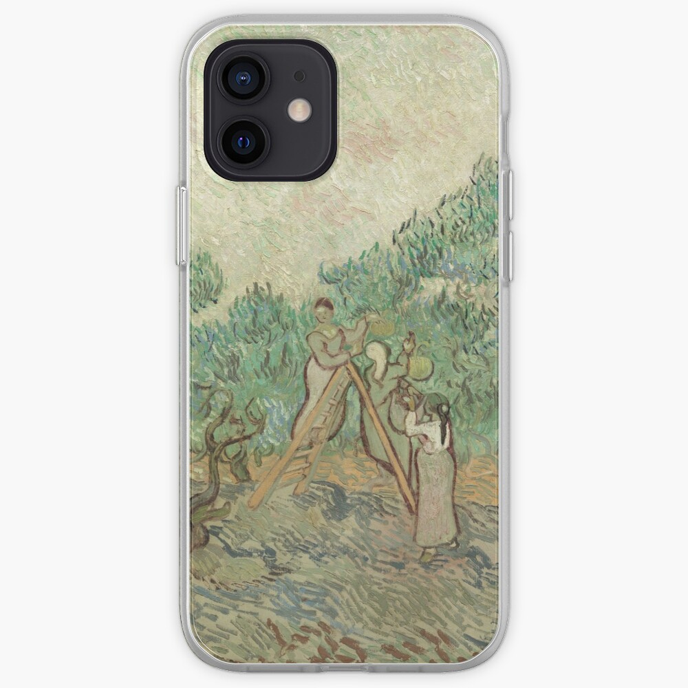 The Olive Orchard by Vincent van Gogh - Classic Art iPhone Case & Cover