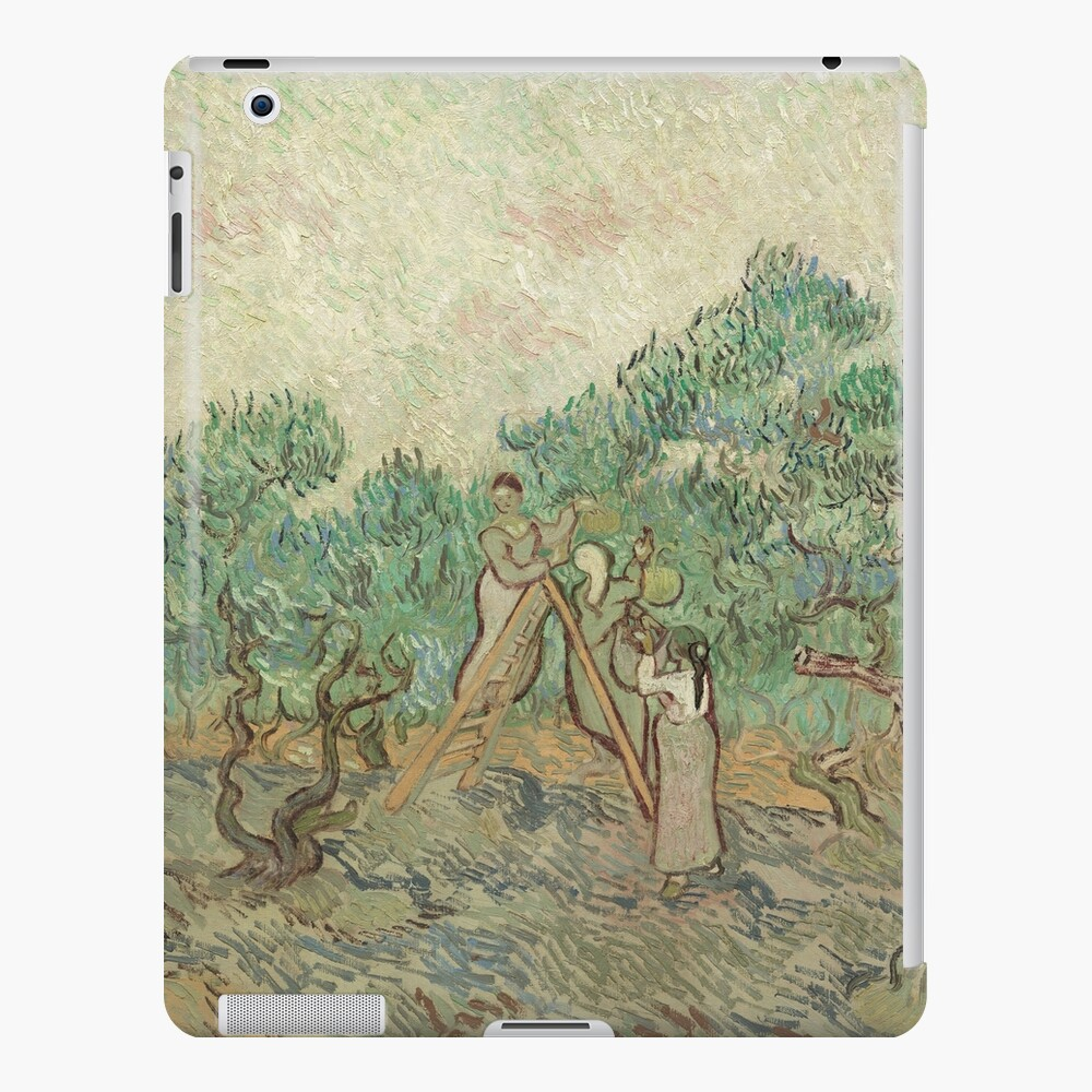 The Olive Orchard by Vincent van Gogh - Classic Art iPad Case & Skin
