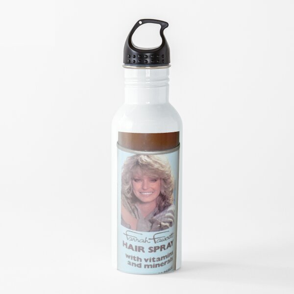 farrah fawcett spray - stranger things 3 Water Bottle