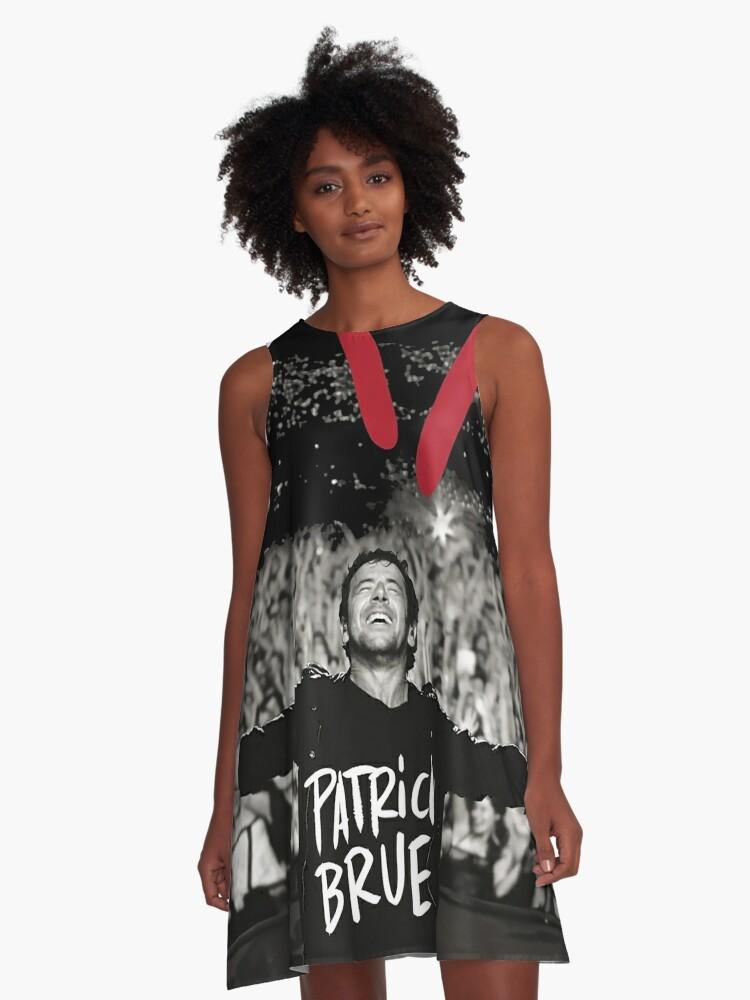 Nameman Patrick Bruel Show Tour 2019 A Line Dress By Hgnulaityen Redbubble