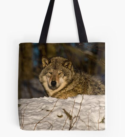 Sunrise Wolf Tote Bag