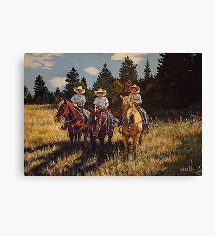 Aramis, Pathos and Athos~ The Grandsons Canvas Print