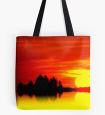 Golden Sunball Tote Bag