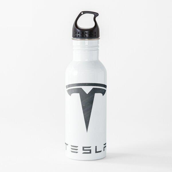 Galaxy Tesla Logo Water Bottle