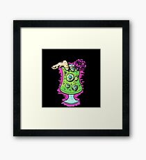 Zombie Cocktail  Framed Print