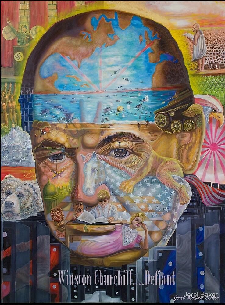 Churchill ''DEFIANT''  by Jerel Baker