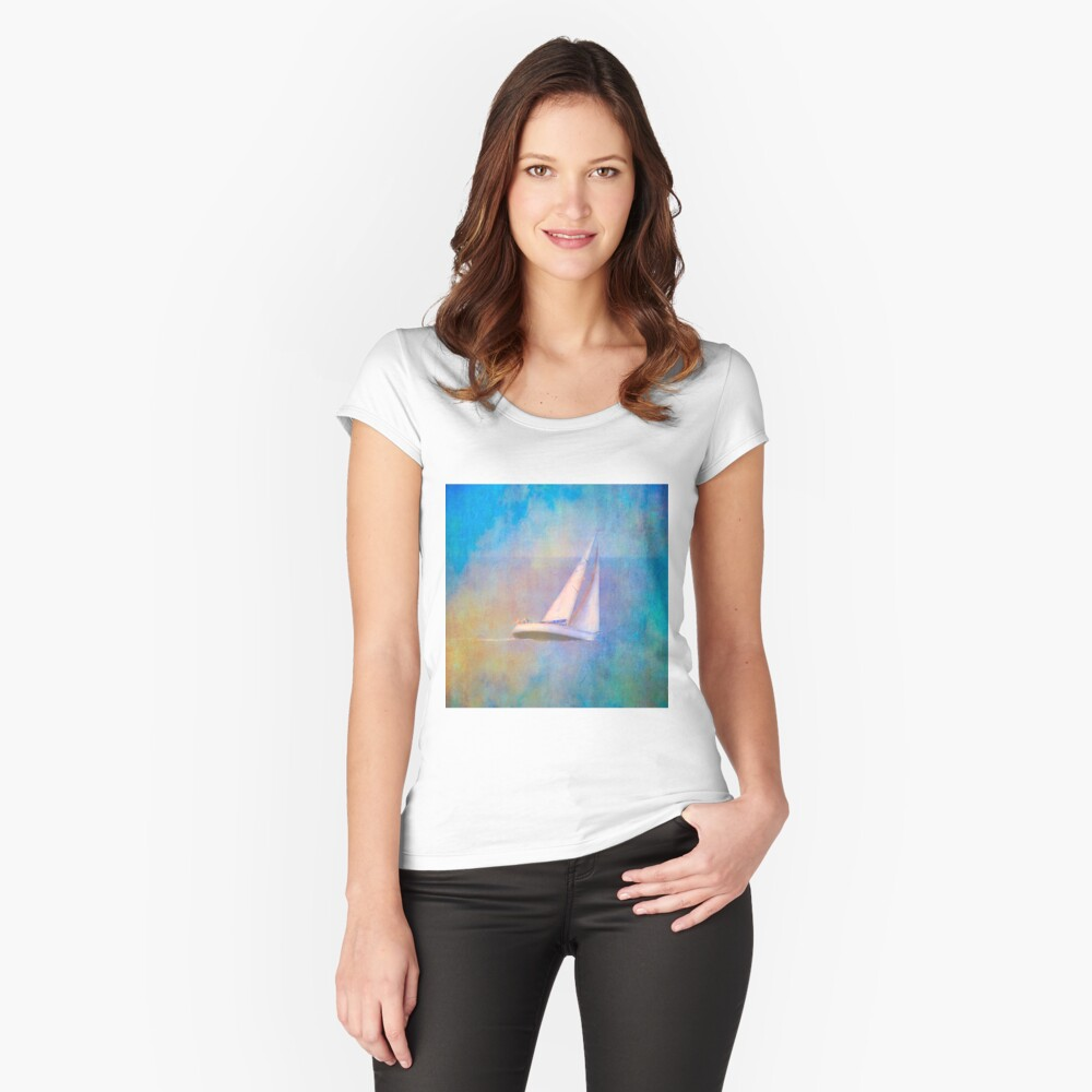 yacht Women's Fitted Scoop T-Shirt Front