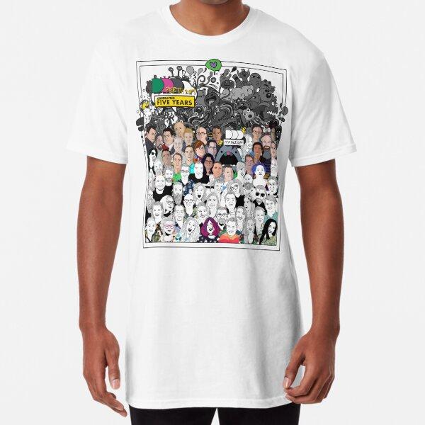 DDD Perth - Celebrating 5 years Long T-Shirt