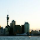 Auckland skyline by rmenaker