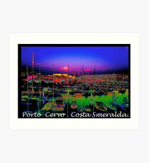 Porto Cervo . Costa Smeralda . by Brown Sugar 2003. Views (667)  thank you ! Art Print