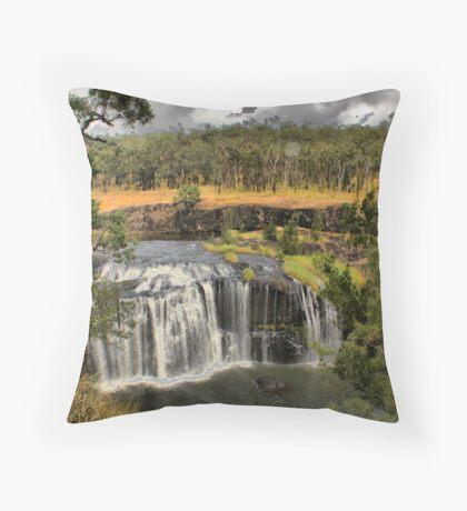 Millstream falls near Ravenshoe Throw Pillow