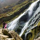 Perspective at the Powerscourt Waterfall by Orla Flanagan