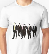 Reservoir Dogs with colored ties and glasses T-Shirt