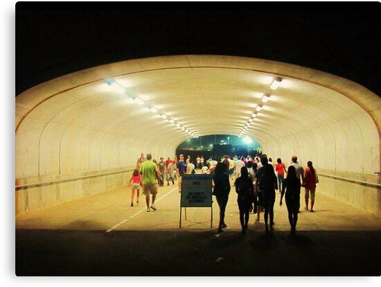 tunnel pedestrians by ANNABEL   S. ALENTON