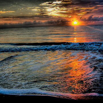 Ocean Sunset by blutat2