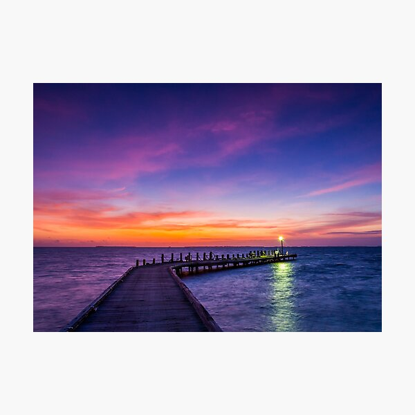 Light on the Jetty Photographic Print