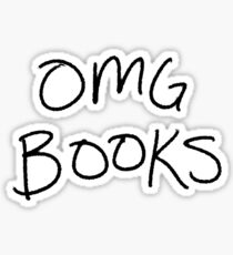 OMG BOOKS Sticker