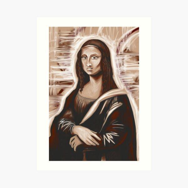 Mona Lisa 79 Art Print