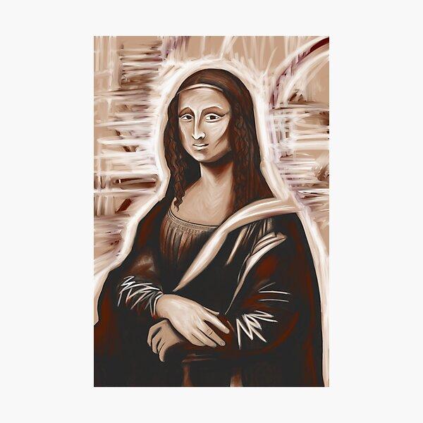 Mona Lisa 79 Photographic Print