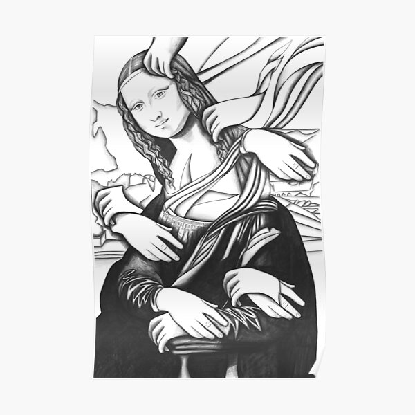 Mona Lisa 82 Poster