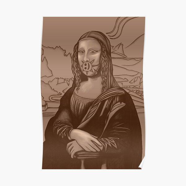 Mona Lisa 84 Poster