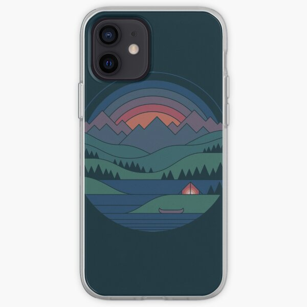 The Lake at Twilight iPhone Soft Case